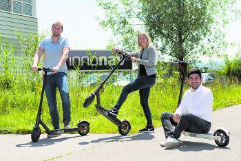 In der Mittagspause raus gehen und den Kopf frei kriegen – InnoNav bietet seinen Mitarbeitern eine super Work-Life-Balance.