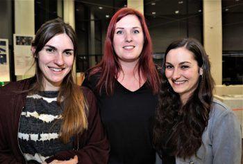 "<p class=""caption"">Jessica Schubert, Christina Grabherr und Sarah Bernardi (Omicron).</p>"