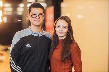 Josef Mayer und Annika Miltner.