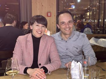 "<p class=""caption"">Kerstin Biedermann-Smith und Hannes Jochum.</p>"