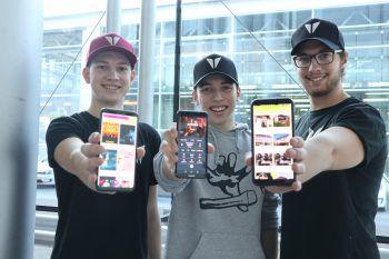 """Mit ihrer App """"Evential"""" wollen Tobias, Emanuel und Sebastian den Partyliebhabern im Ländle eine Plattform bieten. Fotos: WANN & WO/Heel"""