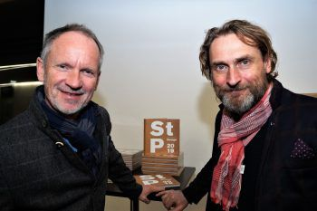 """<p class=""""caption"""">Uli Strobl und Reinhold Weiss (Weiss & Hardt Architekten).</p>"""