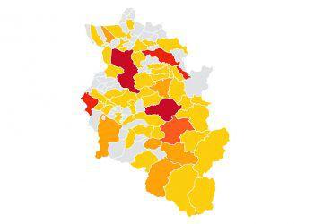 """<p class=""""caption"""">""""Heat Map"""": Helfen Sie, die Wohnpreissituation im Land zu visualisieren. Link: www.vol.at/leistbares-wohnen. Grafik: Russmedia</p>"""