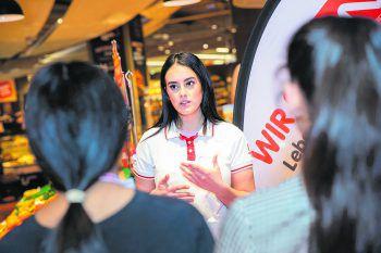 2500 Schüler nahmen dieses Jahr an den Interspar-Lehrlingsevents teil.