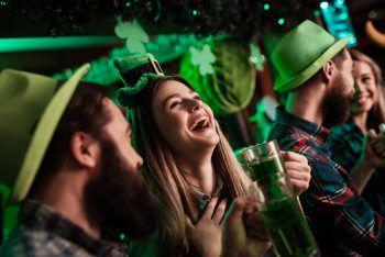 Alles in Grün beim St. Patrick's Day.