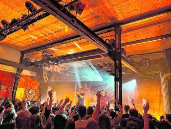 Am Freitag überzeugte Rapper Dame sein Publikum im Dornbirner Prachtclub. Foto: handout/Sohm