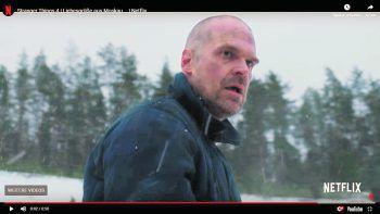 Am Leben und frisch frisiert: Chief Jim Hopper.Screenshot: YouTube