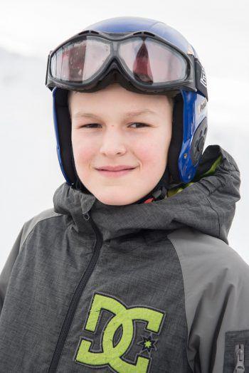 """<p>Aurel, 11, Lustenau: """"Ich bin zum ersten Mal dabei, die Woche war voll cool und lustig. Wir sind oft Skifahren gegangen und auch am Abend hatten wir viele verschiedene Aktionen. Mein Highlight war eindeutig das Tiefschneefahren!""""</p>"""