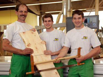 Bei Herbert Blank achten die Mitarbeiter auf die Qualität der Materialien. Foto: handout/Portas