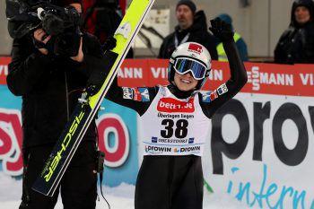 Chiara Hölzl holte gestern ihren dritten Weltcupsieg. Foto: GEPA