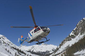 Die Frau wurde ins LKH Feldkirchgeflogen.Foto: handout/Bergrettung