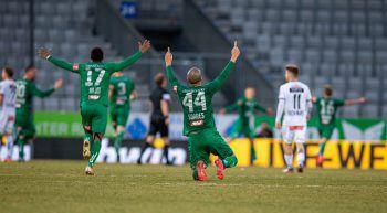 Die WSG Tirol feierte einen 2:0-Heimsieg über den Wolfsberger AC.
