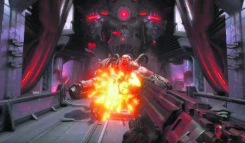 """<p class=""""title"""">Doom Eternal</p><p>20. März, PC, PS4, Xbox One. Es wird wieder geballert, was das Zeug hält. Doom Eternal ist der bereits fünfte Teil der Doom-Reihe und verspricht wieder rasanten Shooter-Spaß gegen Horden von Monstern und Dämonen, die dem Spieler ans Leder wollen.</p>"""