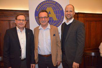 Dr. Günther Eberle, Moderator Kommerzialrat Walter Eberle undLR Marco Tittler.