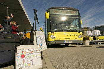 Elektrozuwachs für die Busflotte.Foto: vmobil