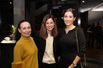 """<p class=""""caption"""">Eva Maria Greber, Susanne Wäger und Sabine Reuter.</p>"""