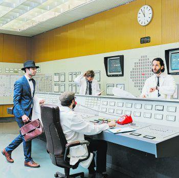 """The Weight – das neue Album mit dem Titel """"In Control"""" kommt am 6. März! Foto: Simon Anhorn"""