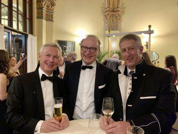 "<p class=""caption"">Hermann Fercher, Ludwig Muxel und Stefan Jochum.</p>"