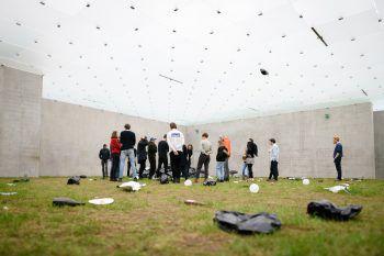 """<p class=""""caption"""">Im Kunsthaus Bregenz haben sich die Teilnehmer des Generators Impressionen geholt.</p>"""