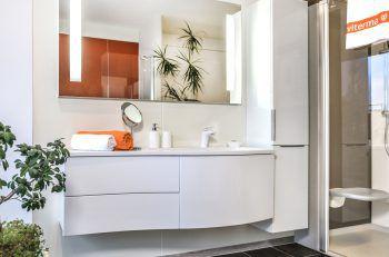 In Halle 13, Stand 20 können sich alle Interessierten ausführlich, kostenlos und unverbindlich über rasche und hochwertige Badlösungen informieren.Fotos: handout/viterma