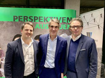 Jürgen Kessler, Referent Alois Flatz, Hans-Peter Metzler.