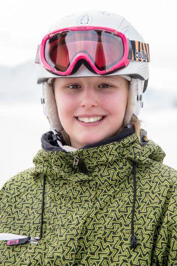 """<p>Leonie, 12, Hohenems: """"Es war das erste Mal im Camp für mich. Super waren das Skifahren und die Freiheiten. Auch der Vortrag über Schneekunde hat mir sehr gefallen. Am besten war das Skifahren, ich bin auch ein bisschen besser geworden!""""</p>"""