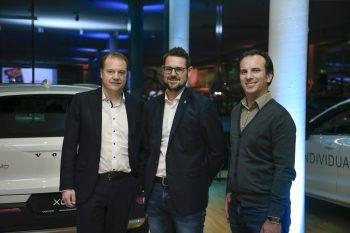 "<p class=""caption"">Mag. Andreas Droop (Partner Anwalts-Kanzlei), Markus Köberle, Marius Amann (Amann Dachmarke).</p><p class=""caption"" />"