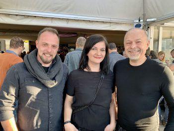 """<p class=""""caption"""">Martin Netzer, Cornelia Witzemann und Harald Künzle.</p>"""