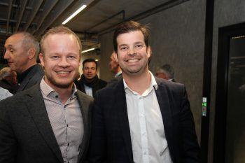 """<p class=""""caption"""">Mathias Kasseroler und Markus Burtscher.</p>"""