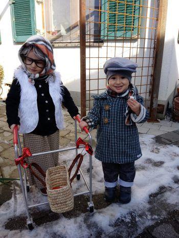 """""""Oma und Opa"""": mit diesem Foto gewinnt Eva einen 100-Euro-Gutschein von BayWa."""