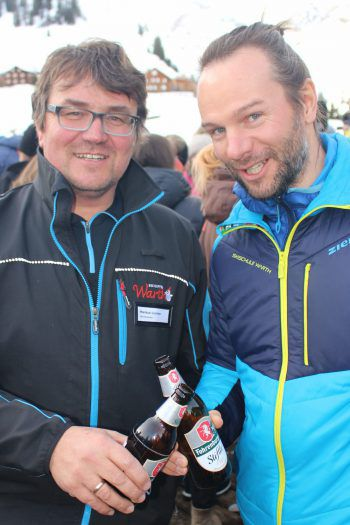 """<p class=""""caption"""">Skischulleiter Mathias Fritz (r.) und BetriebsleiterMarkus Lorenz.</p>"""
