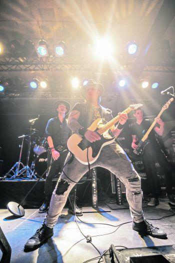 StageFright nutzte im vergangenen Jahr die Chance und spielte sich in die Herzen des Publikums des Dornbirner Prachtclubs. Foto: Sams