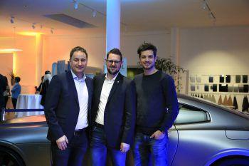 "<p class=""caption"">Thomas Pachole (Mohrenbrauerei), Markus Köberle (Alpla HC Hard) und Julian Halder (Russmedia).</p>"
