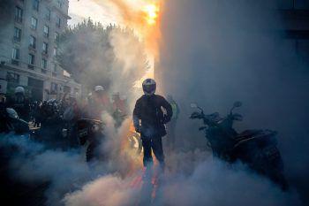 <p>Via del Mar. Aufgebracht: In Chile kommt es noch immer zu heftigen Ausschreitungen zwischen Polizei und Demonstranten.</p>