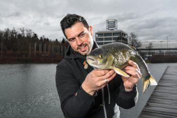 """<p class=""""caption"""">Auf der größten Fischmesse Süddeutschlands treffen sich alle, die für Amphibien und Fische schwärmen.</p>"""