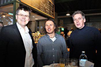 """<p class=""""caption"""">Bernhard Feigl (Glas Marte),Manfred Fink (Canyoning Team Vorarlberg) und Thomas Erath (Erath Bau).</p>"""