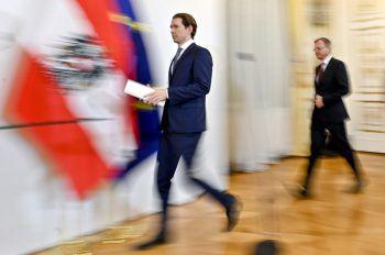 Bundeskanzler Sebastian Kurz übt scharfe Kritik am türkischen Präsidenten. Symbolfoto: APA