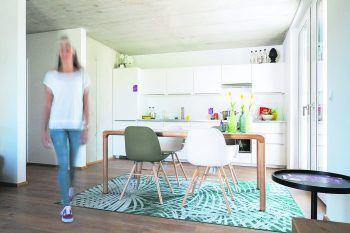 Das besondere RIVA-Gefühl: Beim Open House in Altach kann man sich selbst ein Bild machen und sich gleich vor Ort für eine Wohnung bewerben.Fotos: handout/RIVA