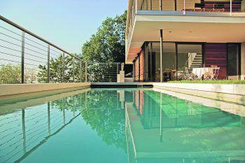 Den Traum vom eigenen Pool einfach realisieren: Designstark, herausragende Produktqualität und optimale Baubegleitung sprechen für GFE.Fotos: handout/GFE