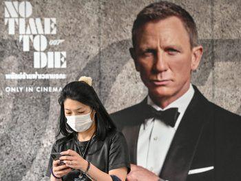 """Der neue """"James Bond"""" ist nur einer von mehreren abgesagten Filmen.Foto: AFP"""