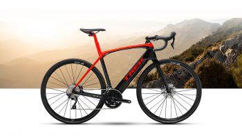 """<p class=""""title"""">               E-Rennrad             </p><p>Das Rennrad ist ein e-Rennrad (Elektro) Trek Domane+LT mit Fazua Motor ist mit Abstand das schnellste mit Unglaublichem Komfort durch ISO Speed Dämpfelemente. Durch viele Features ist es das perfekte Allround-Rennrad für die meisten Rennfahrer.</p>"""