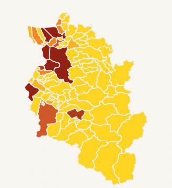 RIVA home und WANN & WO riefen auf VOL.AT dazu auf, die Wohnpreis-Situation in Vorarlberg zu visualisieren. Dabei entstand diese Karte.Fotos: RIVA home, VOL Live; Grafik: Russmedia