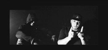 Für das Video holte sich Rapper Samt (rechts) MMA-Fighter Ivo Cuk mit ins Boot.Fotos: handout/Samt