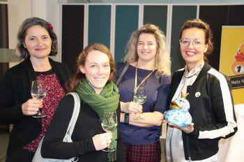 """<p class=""""caption"""">Gabriela Brugger, Lisa Stöckl, Dagmar Bartunek und Conny Amann.</p>"""