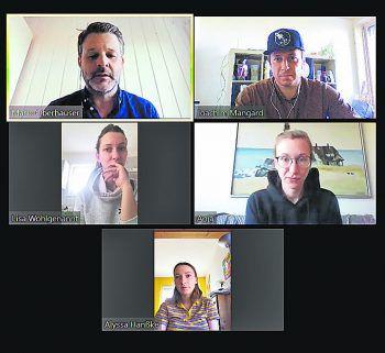 Home-Office-Lösungen wie hier von Zoom sind aktuell gefragt, auch bei W&W.Foto: MJ