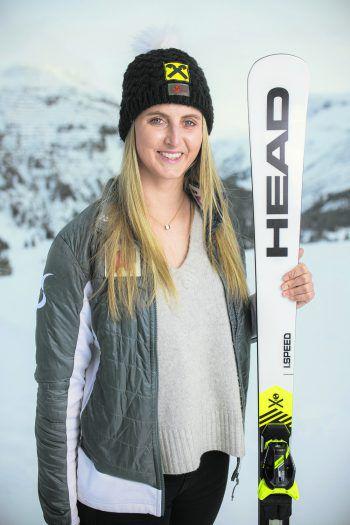 In der heurigen Saison ging der Stern von Nina Ortlieb so richtig auf und die smarte Lecherin raste zu ihrem ersten Weltcup-Sieg.Fotos: Breuß/Sams