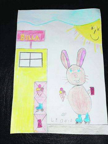 "<p class=""caption"">Leonie setzt (10) auf Humor.</p>"