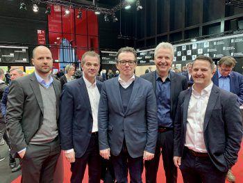 "<p class=""caption"">LR Marco Tittler, Christoph Jenny, Hans Peter Metzler, Otto G. Mäser und Jürgen Kessler.</p>"