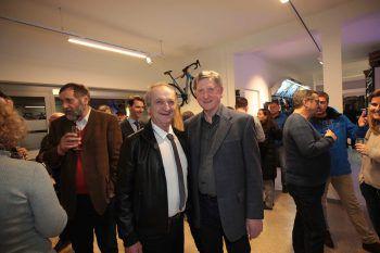 """<p class=""""caption"""">Malermeister Wolfgang Scharf und Helmut Bimmer.</p>"""