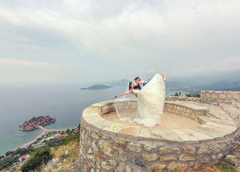 """<p class=""""caption"""">Milis #1: Mili und ihr Mann Edi bei ihrer Hochzeit in Montenegro.</p>"""